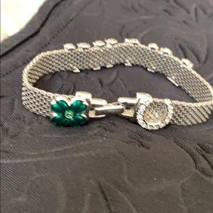 """Swarovski Jewelry - Preowned Swarovski bracelet """"LUCKY"""""""